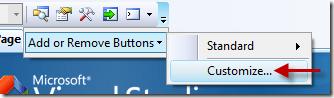 Add macro button