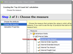 4 Select measure