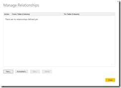 Create relationships in Power BI Desktop Designer
