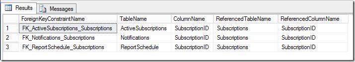 T-SQL to find FK key columns