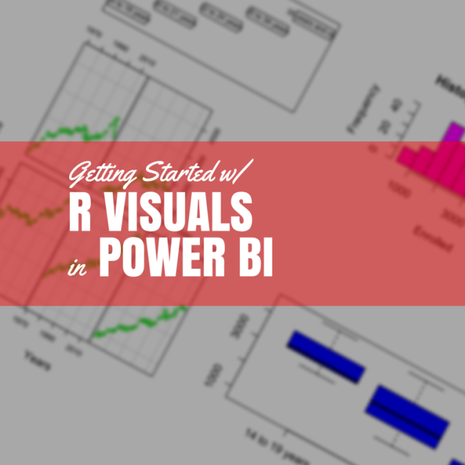 R Visuals in Power BI