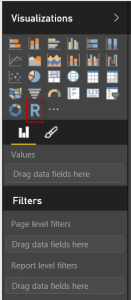 R script visualization in Power BI