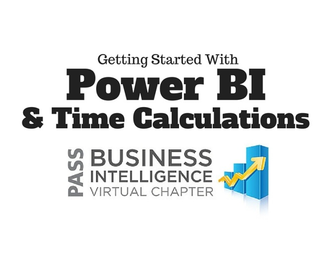 View Getting Started with Power BI and Time Calculations with Dustin Ryan is Now Available!