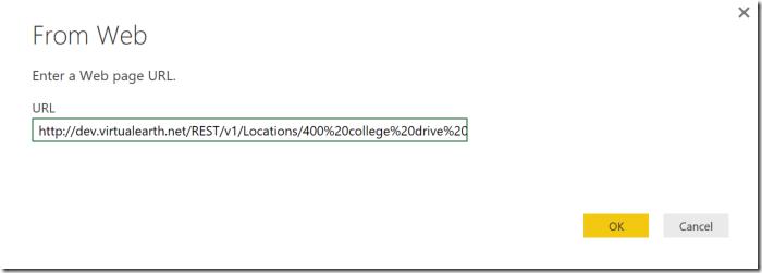 Power BI and the Bing Maps API - SQLServerCentral
